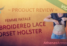 Lace Corset Holster Review (VIDEO)