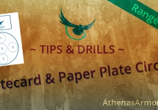 Range Drills: Notecard & Paper Plate Circles