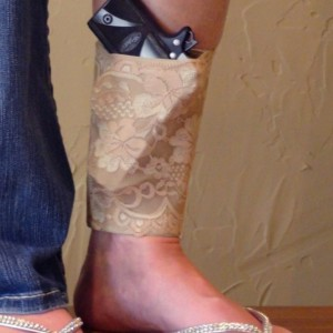 Embroidered Ankle Holster