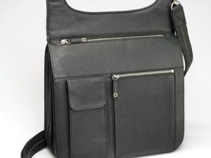 crossbody leather concealed carry purse