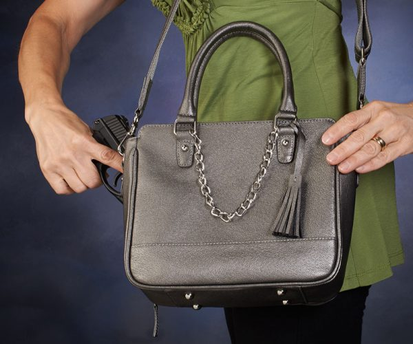 crossbody concealed carry shoulder tote