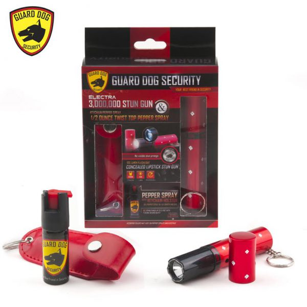 pepper spray and stun gun