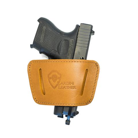 IWB/ OWB Universal Leather Holster
