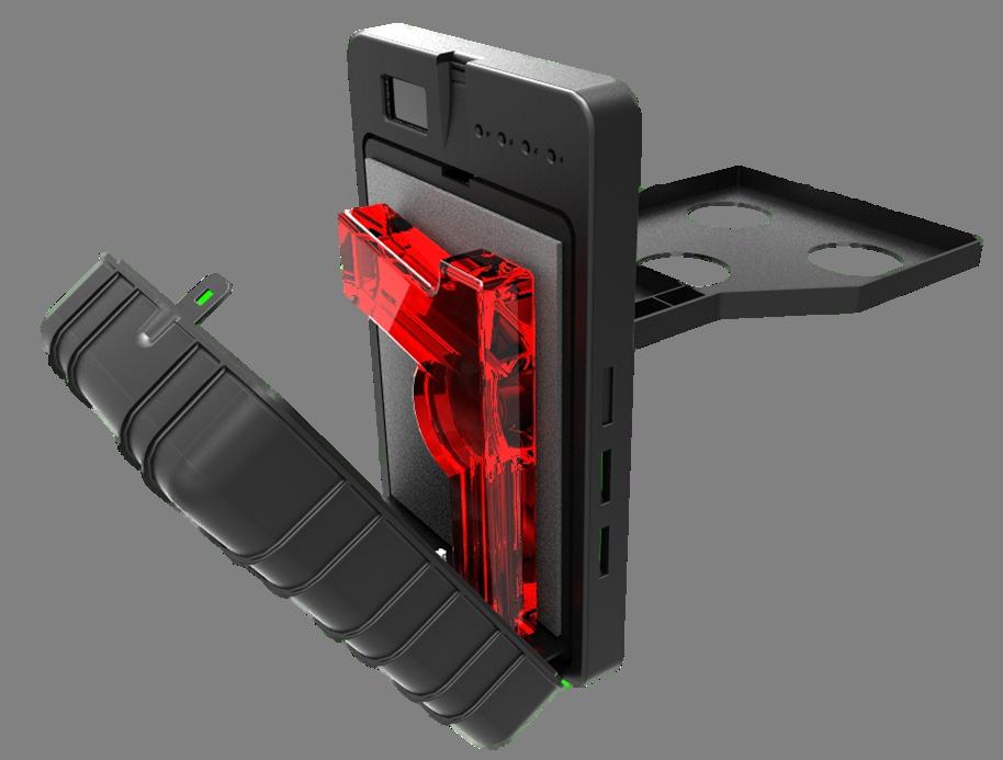 Fingerprint Gun Safe Athena S Armory