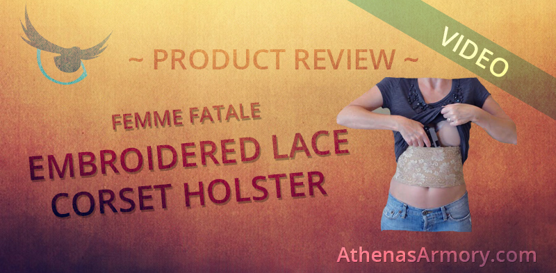 Lace Corset Holster review