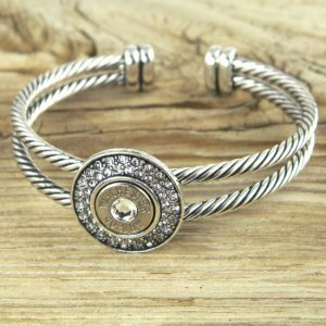 40 Caliber Bling!Bang! Bracelet Nickel