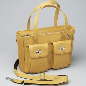 Mustard-Cargo-Tote-front