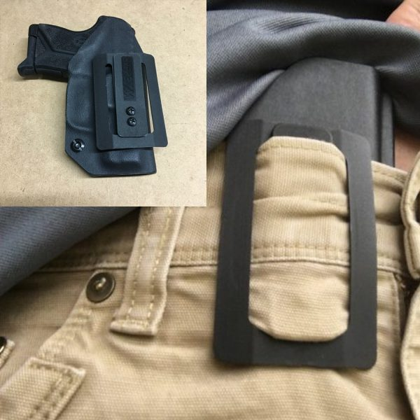 fabriclip holster no belt required