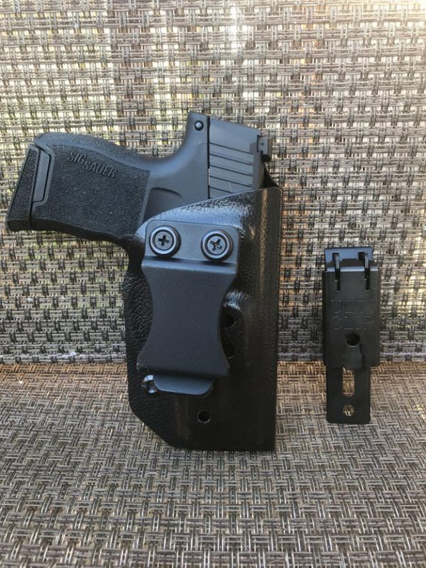 holster with multiple clips