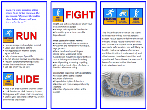run-hide-fight brochure lapd