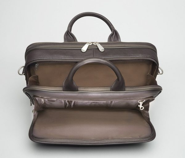 leather concealed carry briefcase