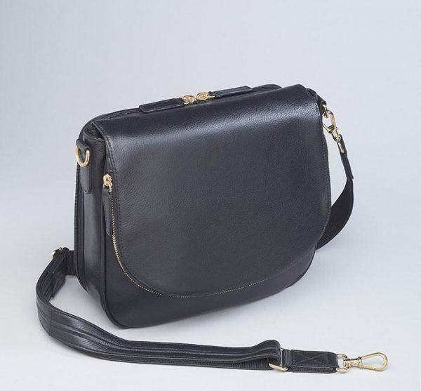 drop front concealed carry handbag